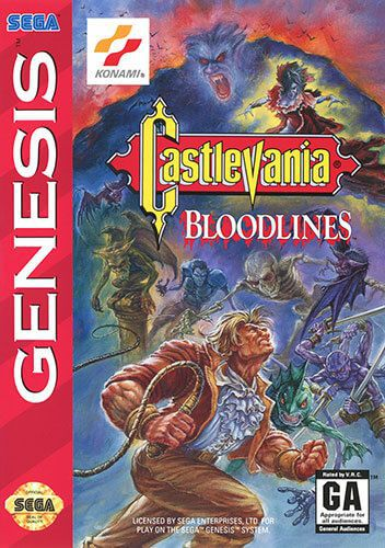 Castlevania: Bloodlines (Castlevania: The New Generation in AU/UK)