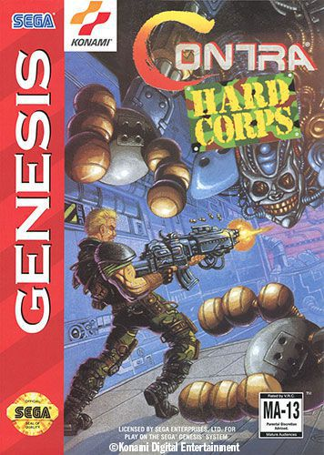 Contra Hard Corps (Probotector in AU/UK)